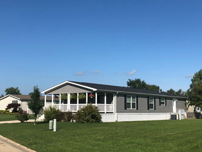 Large lot home